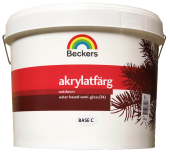 Фасадная краска Beckers Akrylatfarg